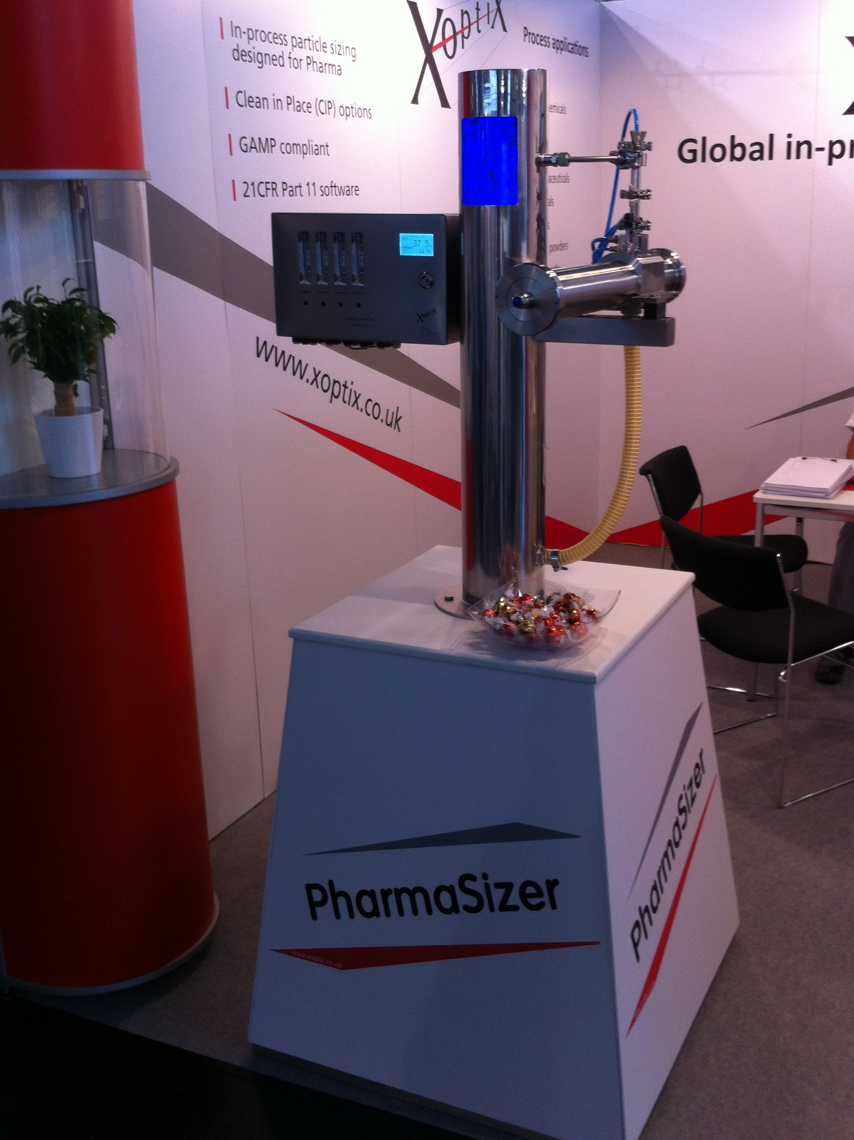 New PharmaSizer Launches At Powtech 2014